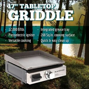 Mesa Cocina Camping | Table Top Griddle Portable Bbq Cooking Camping Grill Outdoor