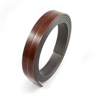 "1m Premium Self Adhesive Magnetic Tape Magnet Flexible Strip 12.7mm (1/2"") Wide"
