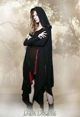 Gothic Steampunk Post Apocalyptic Jacke Hoodie Punk Rave 36 38 40 42 44