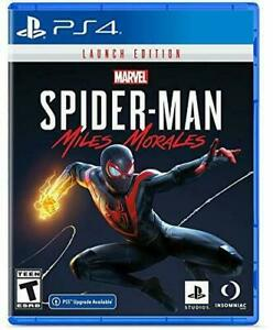 Marvel-039-s-Spider-Man-Miles-Morales-Launch-Edition-PlayStation-4-PS4-New