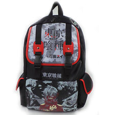 Anime Tokyo Ghoul PU Leather Backpack Sport School Bag Boy And Girl Fashion Gift