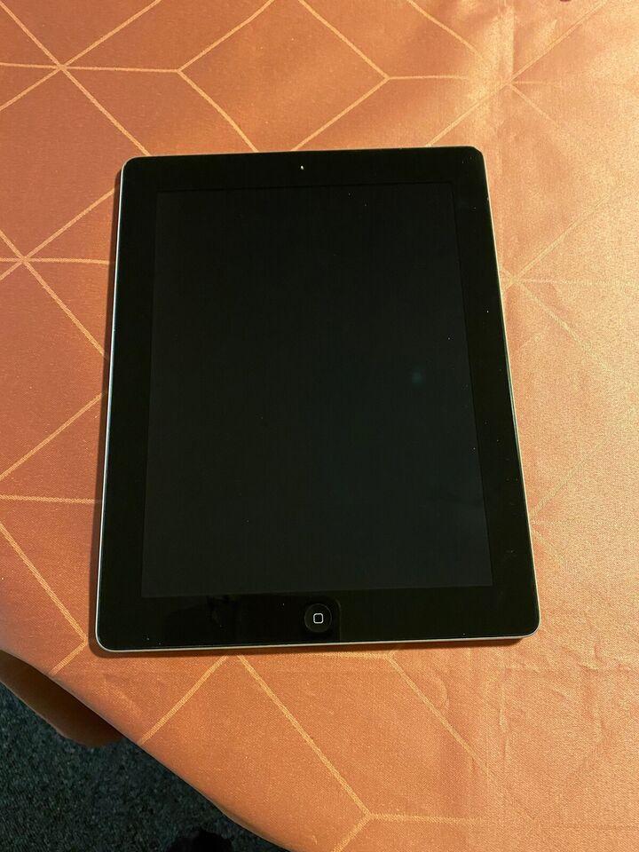 iPad 2, 16 GB, sort