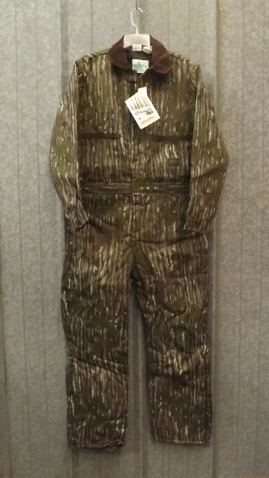 New Vtg Liberty Realtree  Leaf Camouflage Insulated Co lls sz M USA Made Camo  clearance up to 70%