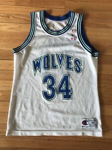 Image is loading Isaiah-Rider-Minnesota-Timberwolves-Champion-Jersey-Size-40 445559a5d