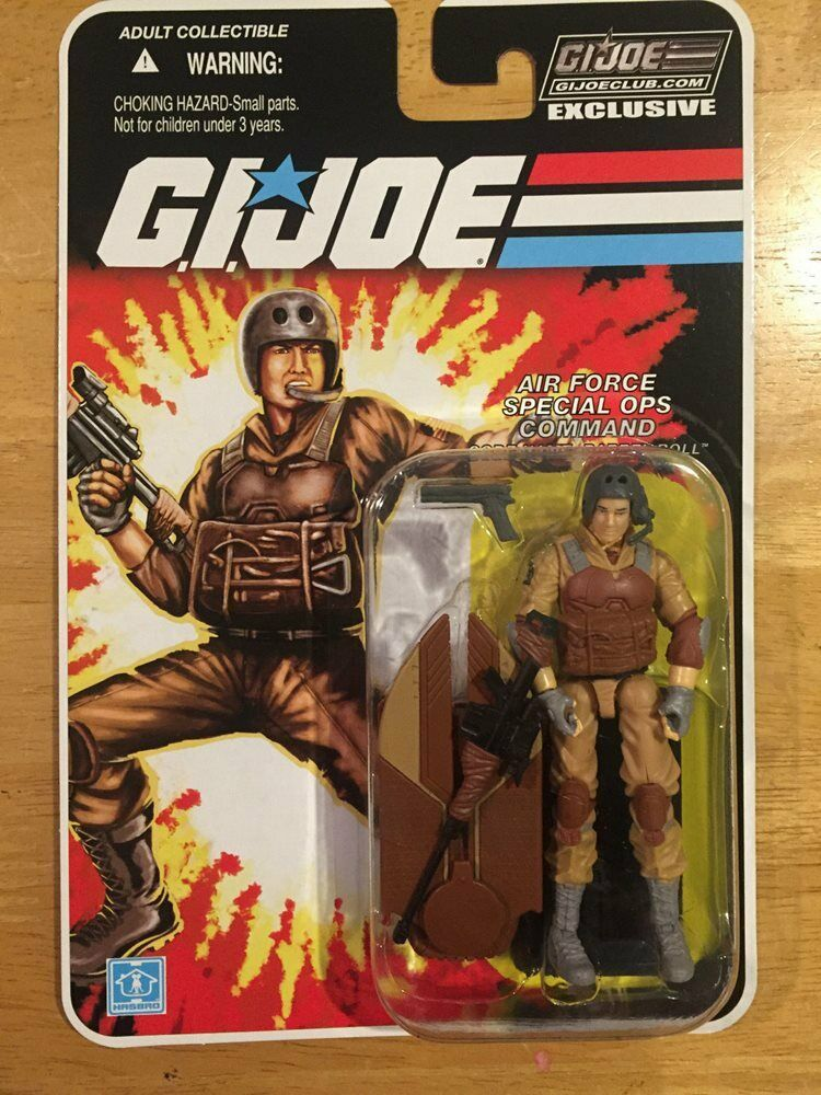 GI JOE COLLECTOR CLUB tonneau barriqué MOC FSS Exclusive Action Figure