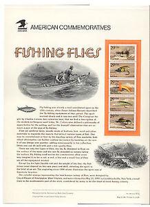 2545-9-29c-Fishing-Flies-Booklet-USPS-Commemorative-Stamp-Pane-364