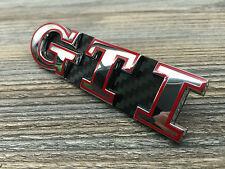Polo 9N2 9N3 6R 6C GTI Rot Carbon Emblem Schriftzug Kühlergrill Wabengrill