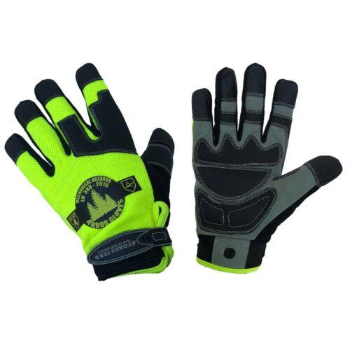 Large Forester Hi‑Vis Arborist Rope//Climbing Glove