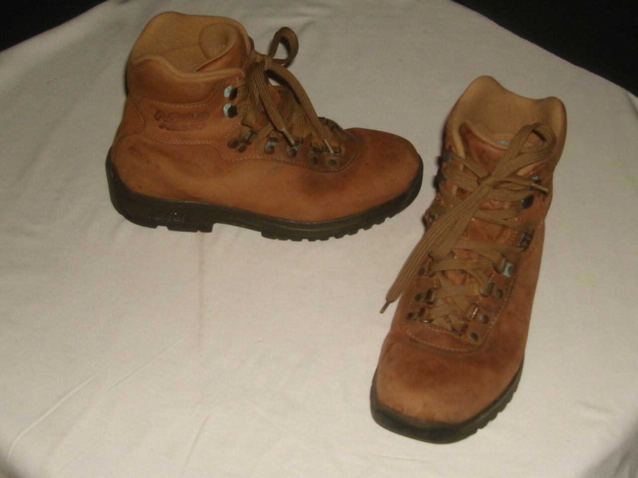 ASOLO AFX 530 WOMEN'S  BROWN LEATHER ANKLE TRAIL  HIKING BOOTS SZ. 6.5 us  38 eur  hot sales