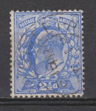 Great Britain nr 107 used EDWARD VII 1902 VEILING oude postzegels ENGELAND