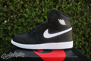 NIKE AIR JORDAN 1 RETRO HIGH OG GS SZ 5 Y BLACK WHITE YIN YANG 575441 011