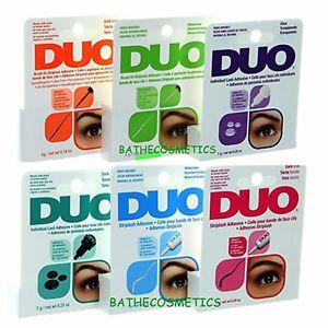 d9c4934802b DUO Eyelash Glue/Adhesive (Choose From Six different Type) Brush On ...