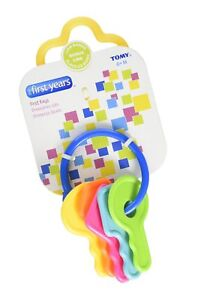 Pack of 3 The First Years Learning Curve First Keys Teether 1 ea