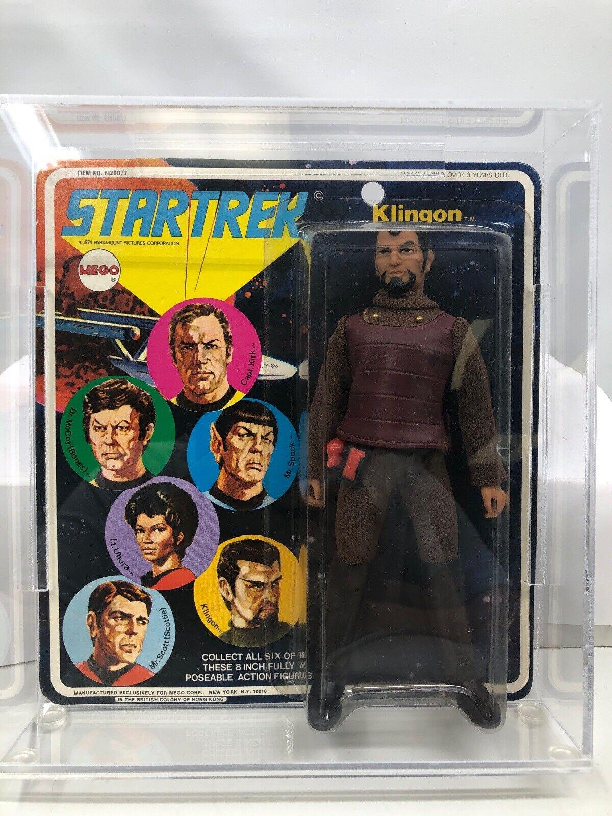 1974 MEGO STAR TREK KLINGON MOC In Case Great Condition