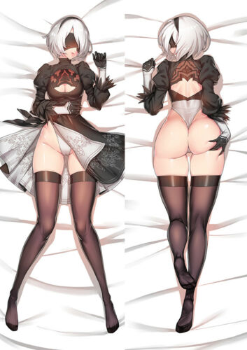 NieR Automata Dakimakura Pillow Case Cover Hugging Body M50