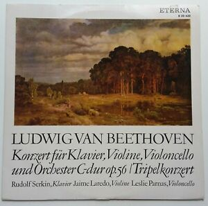 Beethoven Triplekonzert Serkin Laredo Parnas Eterna 820622