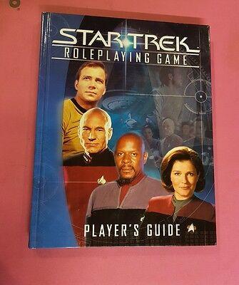 Affidabile Gioco Di Ruolo Di Star Trek-i Giocatori Guida Decifrare Rpg Fuori Catalogo Ds9 Tng Voy Tos Raro-mostra Il Titolo Originale Avere Una Lunga Posizione Storica