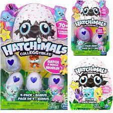 Hatchimals Colleggtibles Lot - 4 Pack w Bonus - 2 Pack n Nest + Blind Bag