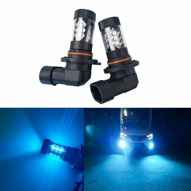 9005 LED DRL Daytime Running Light Bulb Blue For Honda