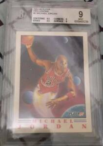 Michael-Jordan-1991-BGS-9-FLEER-PRO-VISIONS