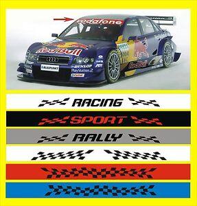 RALLY-Motorsport-XXL-Aufkleber-TUNING-Sonnenblende-BLENDSTREIFEN-Sunstrip