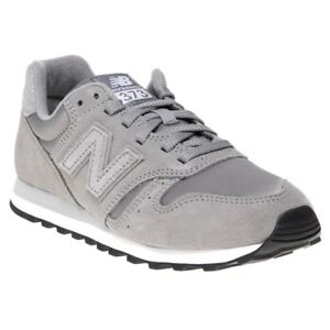 Details about New WOMENS NEW BALANCE GRAY 373 SUEDE Sneakers PRINTS