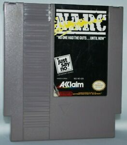 Acclaim-NARC-1990-Cartridge-NES-Nintendo-Game-Authentic-Tested-Good