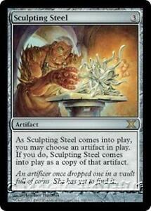 SCULPTING-STEEL-Tenth-Edition-MTG-Artifact-RARE
