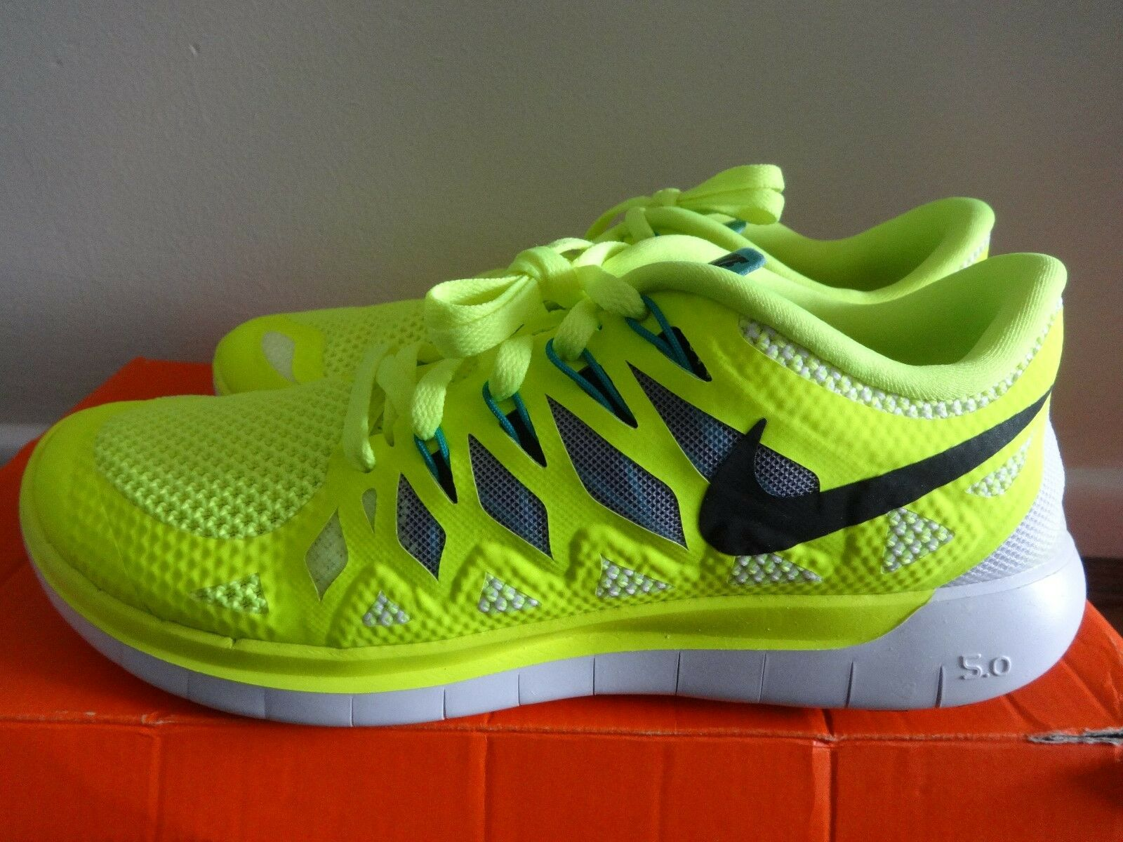 Nike Free 5.0  Femme  trainers  chaussures  642199 701 uk 3.5 eu 36.5 us 6 NEW+BOX