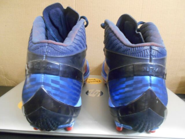 7ce598bc7c2df Nike Air Zoom Alpha Talon PE Promo Sample sz 12 NY Giants Super Bowl cleats  rare