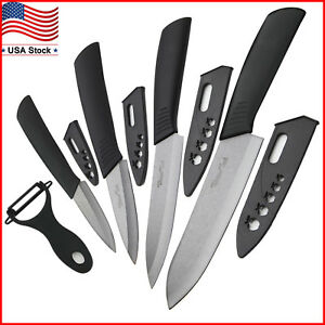 Ceramic Knife Set Chef S Kitchen Knives 3 4 5 6 Peeler Knife