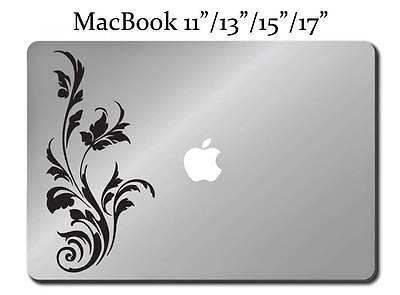 VINE Decal LAPTOP / MACBOOK Mac Pro Air Sticker Apple ALL SIZES Tree Flower M83