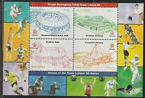 221M-MALAYSIA-1998-VENUES-OF-THE-KL-039-98-COMMONWEALTH-GAMES-MS-FRESH-MNH