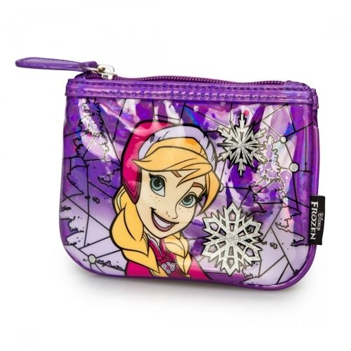 Loungefly Disney Frozen Elsa Stained Glass Coin Bag NEW Toys Purse Wallet