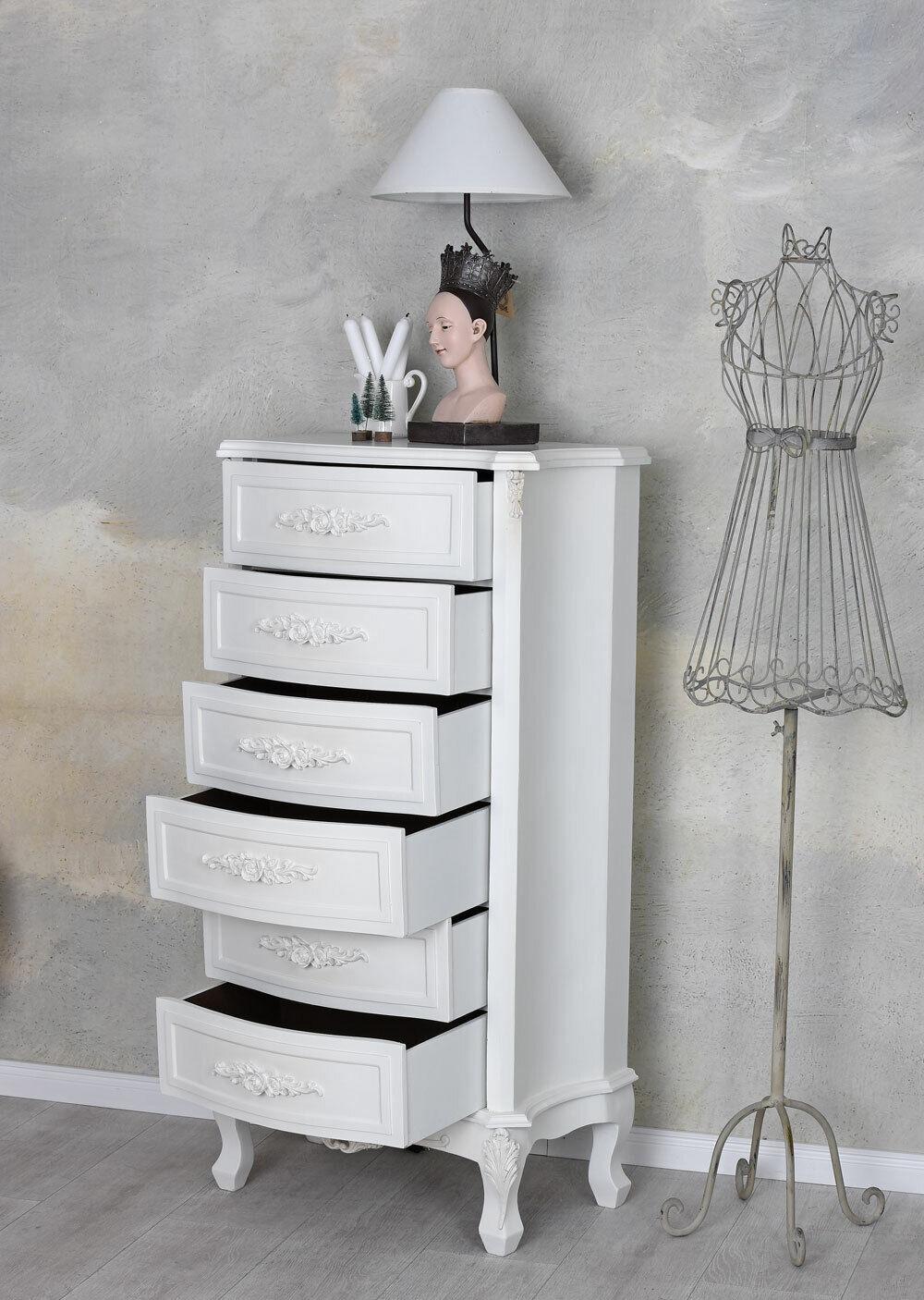 Commode style maison de campagne le placard du couloir tiroirs linge commode vintage hochkommode