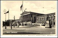 Wien Österreich alte Ansichtskarte ca. 1930/40 Partie am Parlament ungelaufen
