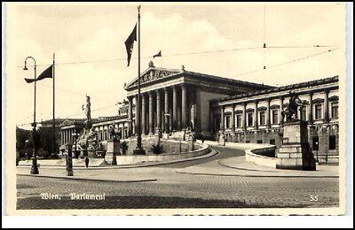 Ansichtskarten 1930/40 Partie Am Parlament Ungelaufen Wien Österreich Alte Ansichtskarte Ca