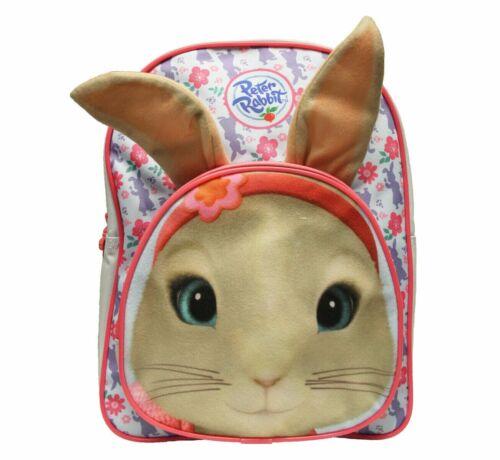 Peter Rabbit Girls Floral Print Blue//pink School Bag Rucksack Backpack New Gift
