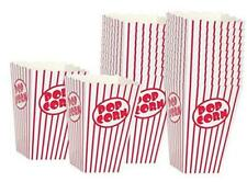 Movie Theater Popcorn Boxes Paper Popcorn Box Red And White Great 20 Boxes