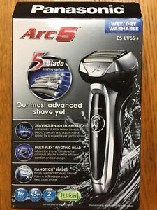 672624e91dd Brand New Panasonic Arc5 Automatic Wet Dry Electric Shaver - Silver ...