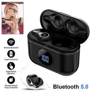 Bluetooth-5-0-Earbuds-Headphone-TWS-Wireless-Headset-Noise-Cancellation-Earphone