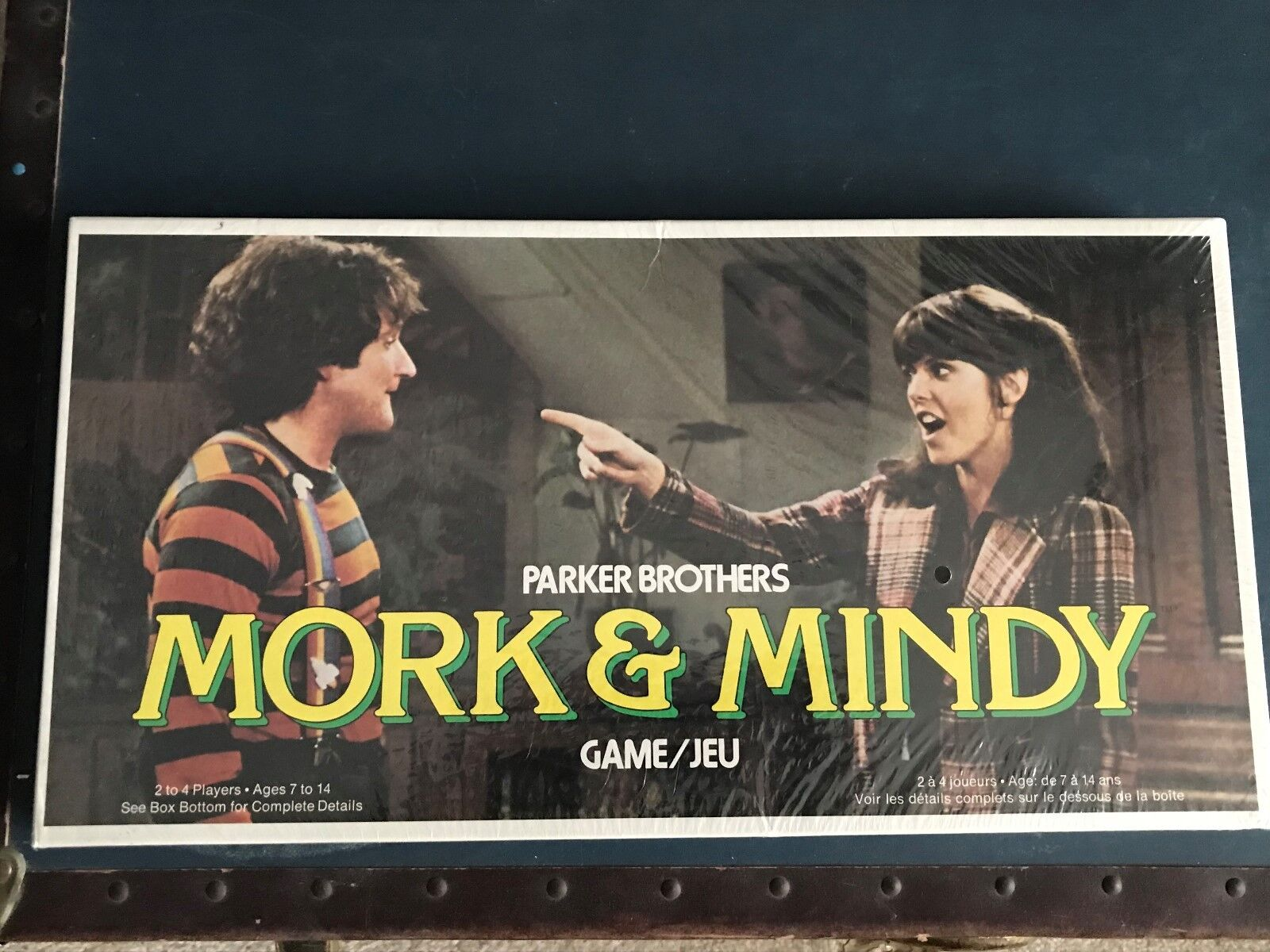 VINTAGE 1979 PARKER BrossoHERS MORK & MINDY GAME (Robin Willams) (Factory Sealed)