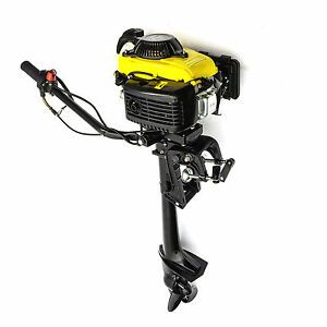Outboard Engine Motor 2hp 53cc 4 Stroke Engine Fishing