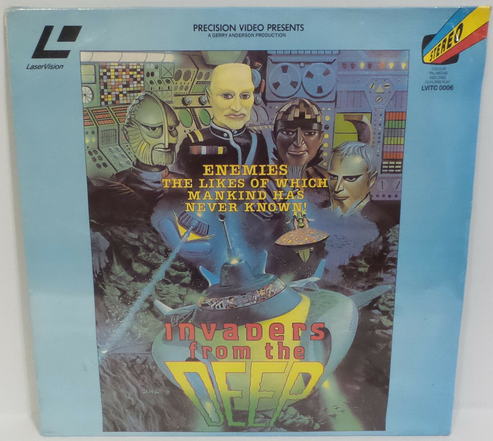 STINgrau : INVADERS OF THE DEEP LASER DISC MADE IN THE UK