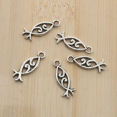 20pcs Tibetan Silve angel wing Charm pendants X0190
