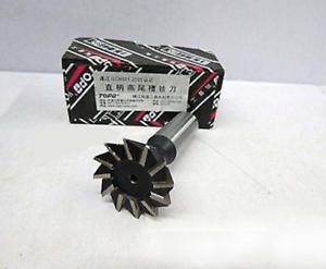 New 1pc  32mm X 45 Degree HSS Straight shank Dovetail Cutter End Mill Bit