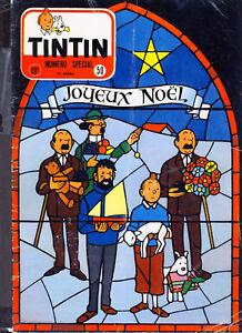 TINTIN-Edition-Belge-n-50-du-12-decembre-1957-sans-le-calendrier-1958