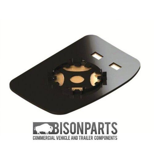 *TRANSIT MK6//MK7 2000-2013 MANUAL DOOR WING MIRROR GLASS DRIVERS SIDE UT6713R