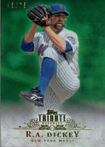 2013-Topps-Tribute-Green-63-R-A-Dickey-SER-75-BX-T1Y