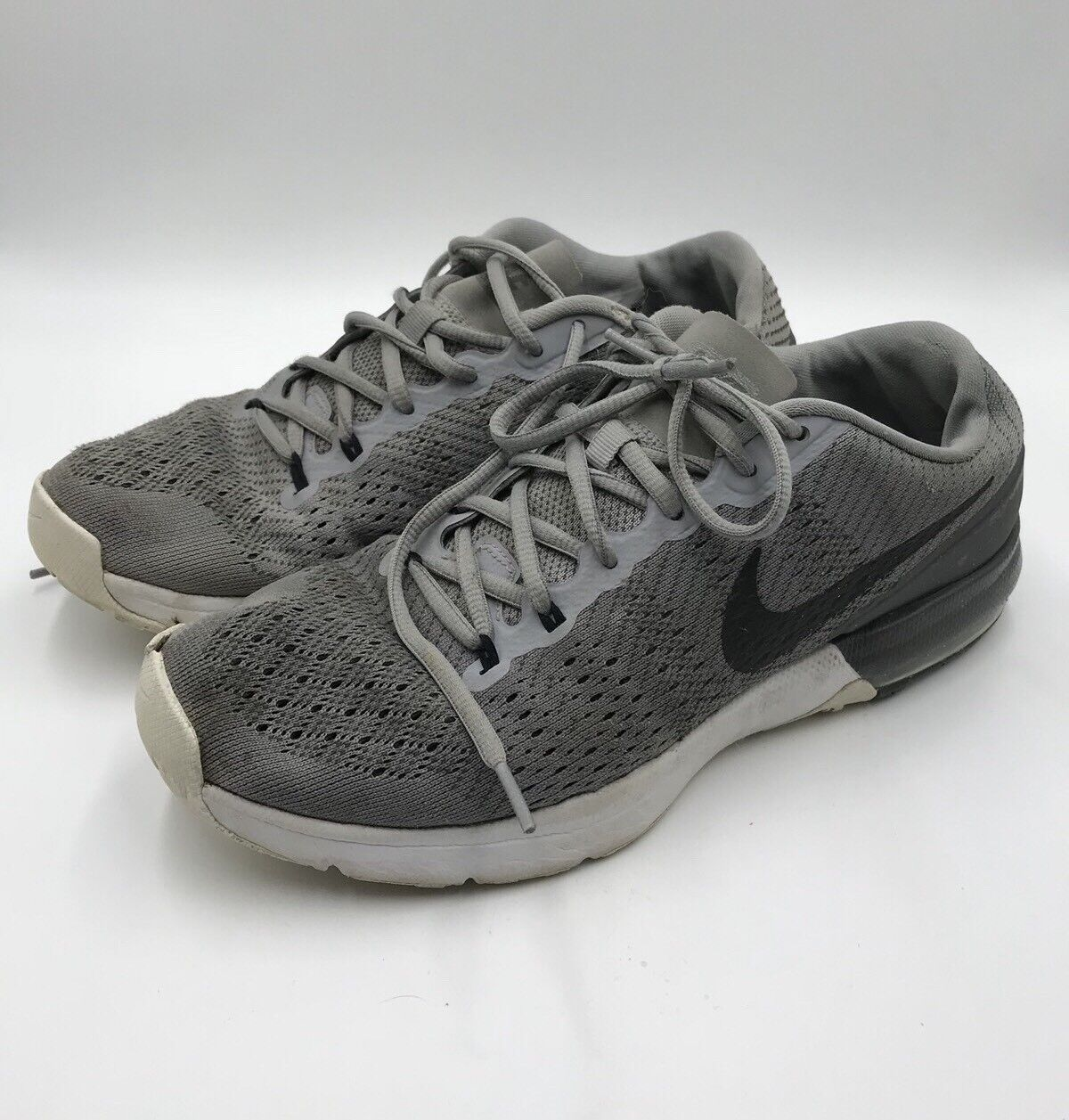 the best attitude d012c 83ac2 NIKE Air Max Typha Flywire Grey Black Training Crossfit Crossfit Crossfit  Men s Shoes Sz 9 deaa8f